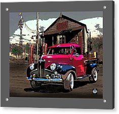 Gassed Up And Ready Acrylic Print