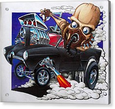 Gasser Acrylic Print by Jason Hunt