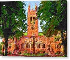 Gasson Hall  Acrylic Print