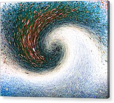 Gastronomic Tornado Acrylic Print by Will Borden