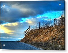 Gate At The Crest Acrylic Print