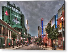 Gate E - Fenway Park Boston Acrylic Print