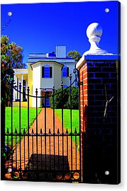 Gate Of My Grandfather Acrylic Print by Don Struke