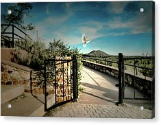 Gate To The Martyrs Acrylic Print