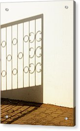 Gate Shadow Acrylic Print by Prakash Ghai