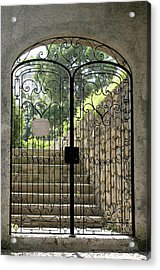 Gate To Biblioteca S Francesco Acrylic Print