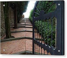Gate To Castello Vichiamaggio Acrylic Print