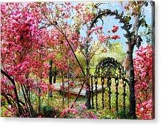 Gate To Eternity Acrylic Print by Bonnie Barry