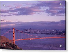 Gate To Frisco Acrylic Print by Gerard Fritz
