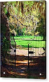 Gate To Heaven Acrylic Print