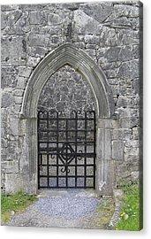 Gate To Irish Castle Acrylic Print