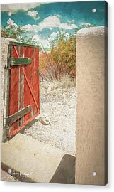 Gate To Oracle Acrylic Print
