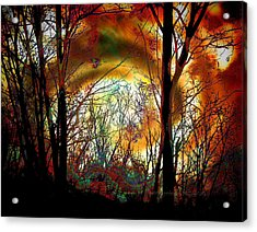Gate To Otherworld Acrylic Print