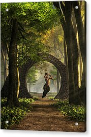Gate To Pan's Garden Acrylic Print
