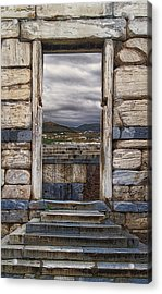 Gate To The Acropolis Acrylic Print