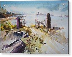 Gated Shore Acrylic Print