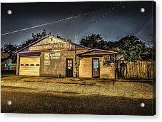 Gates Auto Repair Acrylic Print by David Morefield