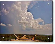 Acrylic Print featuring the photograph Gates Of Hail by Ed Sweeney