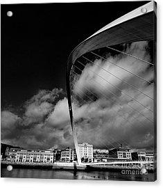 Gateshead Millenium Bridge Acrylic Print by Nichola Denny