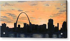 Gateway Home Acrylic Print by Scott Melby