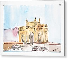 Gateway Of India Acrylic Print