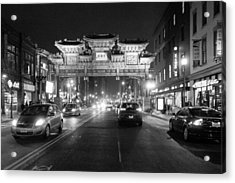 Gateway To Chinatown Acrylic Print