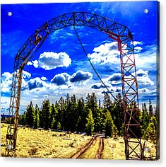 Gateway To The Clouds Acrylic Print by Dennis Wagner