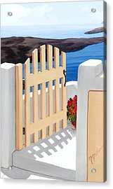 Gateway To The Sea - Prints From My Original Oil Painting Acrylic Print