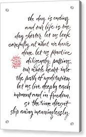 Gatha Four Acrylic Print