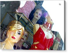Gathered To Watch You Acrylic Print by Jez C Self