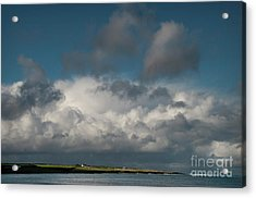 Gathering Clouds Acrylic Print by Marion Galt