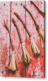 Gathering Of Evil Witches Still Life Acrylic Print