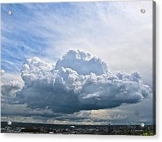 Acrylic Print featuring the photograph Gathering Storm by Sean Griffin
