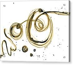 Gathering Strength - Revolving Life Collection - Modern Abstract Ink Artwork Acrylic Print by Patricia Awapara