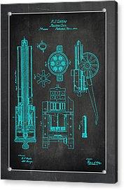 Gatlin Machine Gun Drawing 1d Acrylic Print