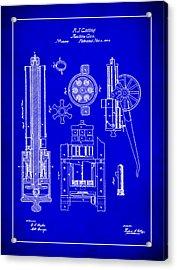 Gatlin Machine Gun Drawing 1h Acrylic Print