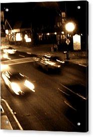 Gatlinburg At Night Acrylic Print by Utopia Concepts