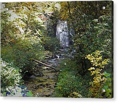 Gatlinburg Tn Waterfall Acrylic Print