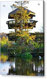 Gator Tower Acrylic Print