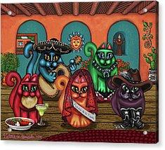 Gatos De Santa Fe Acrylic Print