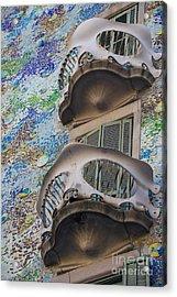 Gaudi Balcony Acrylic Print by Svetlana Sewell