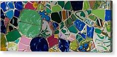 Gaudi Acrylic Print by Peter Verdnik