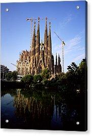 Gaudis Sagrada Familia In Barcelona Acrylic Print