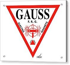Gauss Acrylic Print