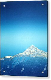 Gaustatoppen. Acrylic Print by Jarle Rosseland