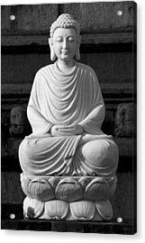 Gautam Buddha Acrylic Print
