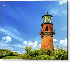 Acrylic Print featuring the painting Gay Head Lighthouse by Christopher Arndt