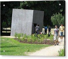 Acrylic Print featuring the photograph Gay Holocaust Memorial by Erik Falkensteen