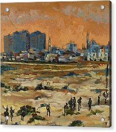 Gaza Landscape 021 Acrylic Print by Gavin Sane