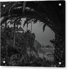 Acrylic Print featuring the photograph Gazebo Along Heisler Park by Cliff Wassmann